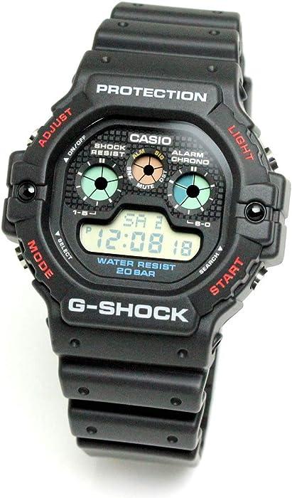 999a6cb933 [ジーショック]G-SHOCK CASIO カシオ 腕時計 メンズ 復刻 限定モデル 逆輸入海外モデル ブラック レッド DW-5900-1 [ 並行輸入品]