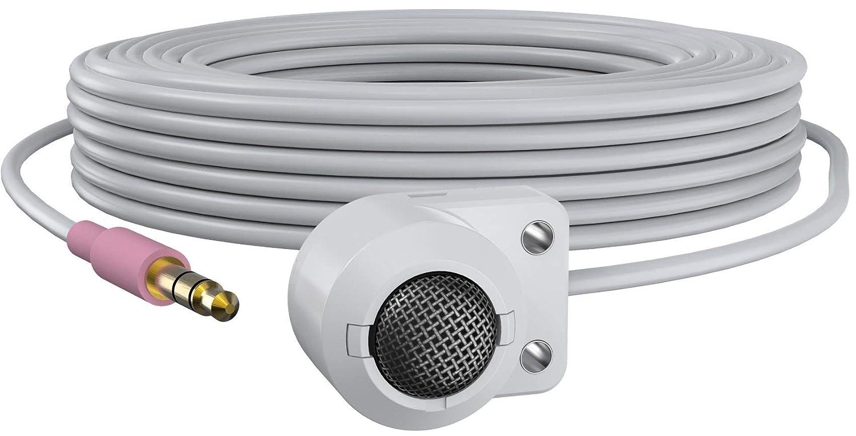 Axis T8351 MK II Security Camera Microphone avec Fil Blanc - Microphones (Security Camera Microphone, -22 DB, 20-20000 Hz, avec Fil, 3,5 mm (1/8'), 5 m)