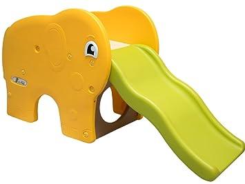 Klettergerüst Plastik Stecksystem : Littletom kinderrutsche elefanten kinder rutsche extra breite stufen