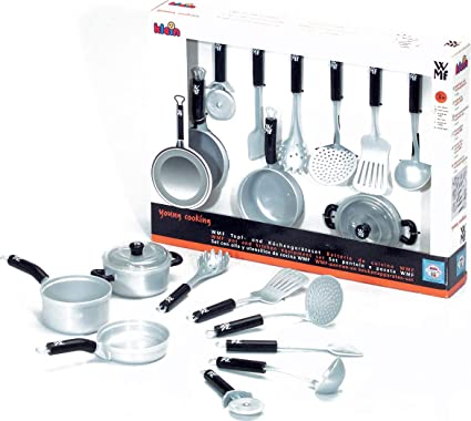 Theo Klein Wmf Toy Pots And Kitchen Set