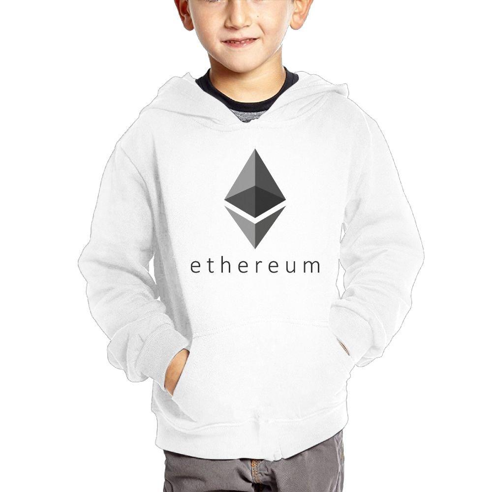 Ethereum Geometry Boys Casual Soft Comfortable Sweatshirts Pocket Hoodies