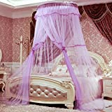 Dome suspended ceiling mosquito net,Court Floor Double Single mosquito curtain-I King