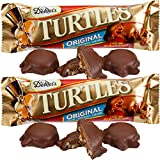 Demet's Original Chocolate Turtles Caramel Cluster 3-piece King Size Bars – 24 Ct. Case For Sale