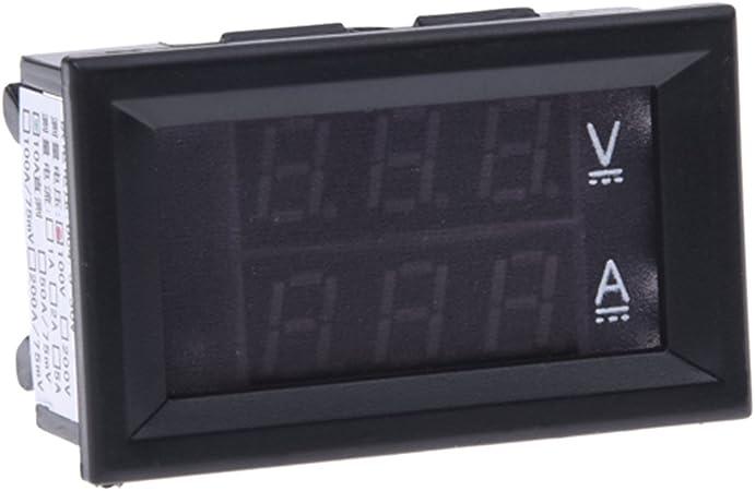 BLU DC 0-99V 3 fili LED Digital Display Panel volt voltmetro voltmetro Auto Motor SODIAL R