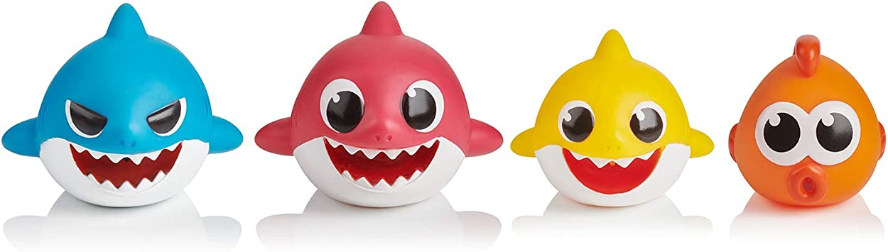 Pinkfong Baby Shark family water gun bathtub  Squirter toy over 3 years old Kids