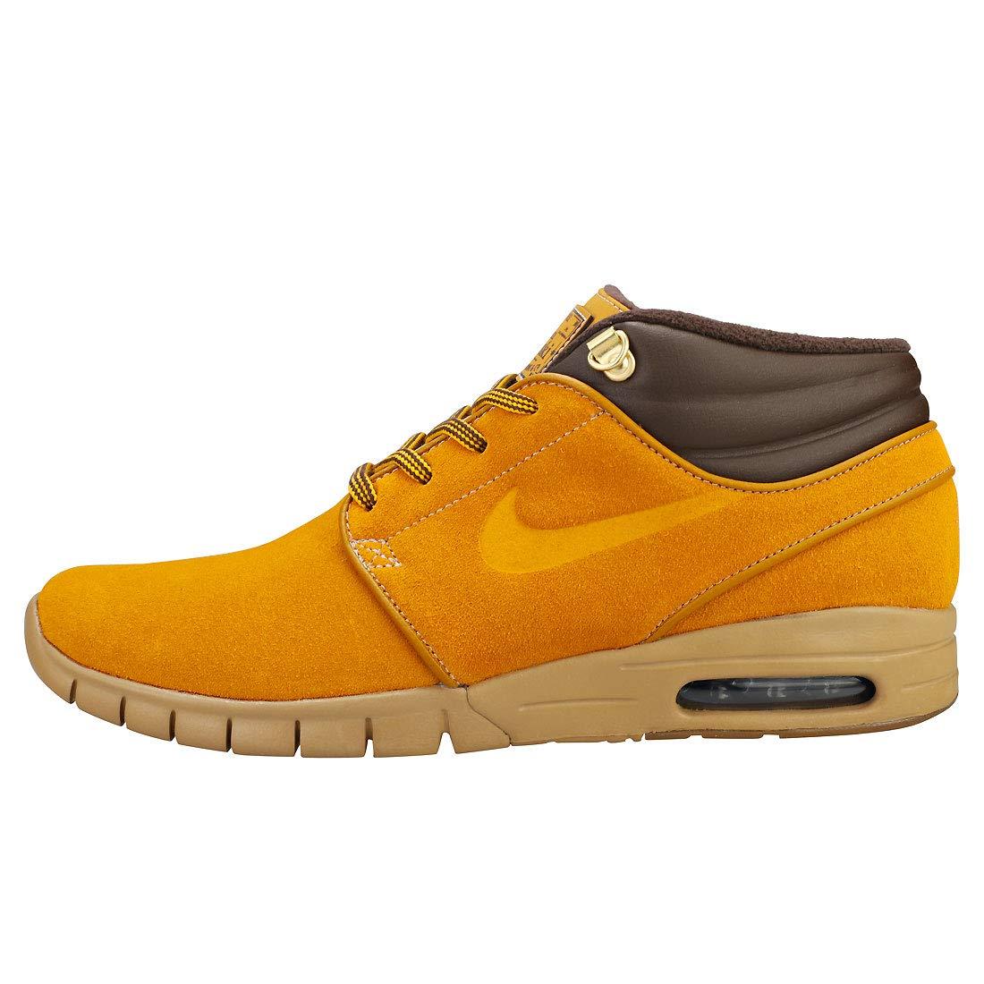 big sale d6ce6 dbfda Amazon.com | Nike Stefan Janoski MAX MID PRM Mens Skateboarding-Shoes  AV3610 | Shoes