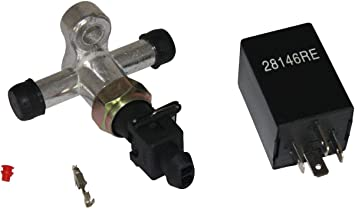 28146RE Dracarys 28146 Electric Brake Vacuum Pump Relay For Brake Booster Vacuum Pump Kit Electric Vacuum Pump