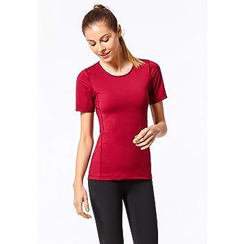 ZMJY Camiseta de Entrenamiento de Gimnasia con Yoga, para ...