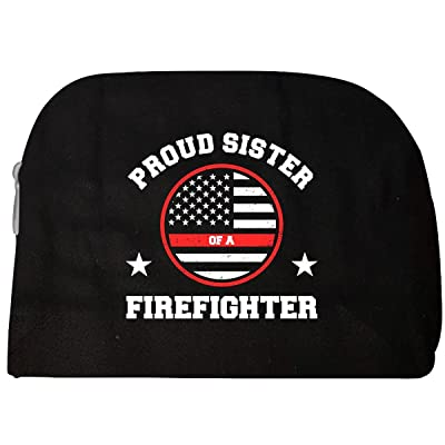 Proud Sister Of A Firefighter - Cosmetic Case