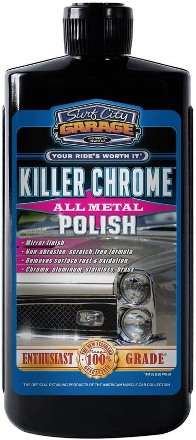 Surf City Garage Killer Chrome All Metal Polish