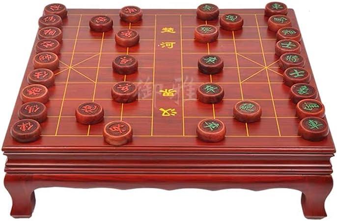 GZ Estrategia Juegos de Mesa Xiangqi Ajedrez Chino con la Tabla, Home Games clásico Educación for 2 Jugadores: Amazon.es: Juguetes y juegos
