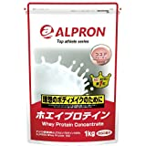アルプロン -ALPRON- ホエイプロテイン ココア風味 1kg アルプロン