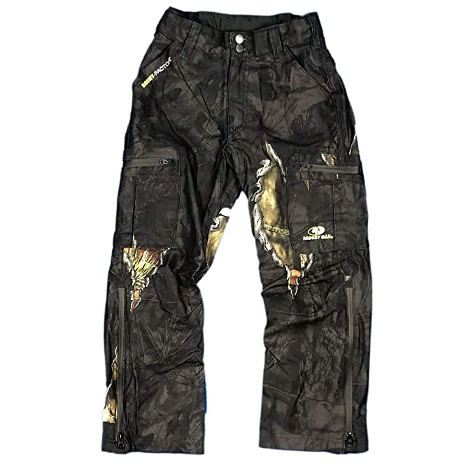 8344a46f6729a Youth Camouflage Waterproof Trousers Boys/Kids: Amazon.co.uk: Clothing