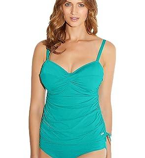 5324e152b5c11 Fantasie Swimwear Montreal Twist Front Tankini Top Indigo 5433 34F ...