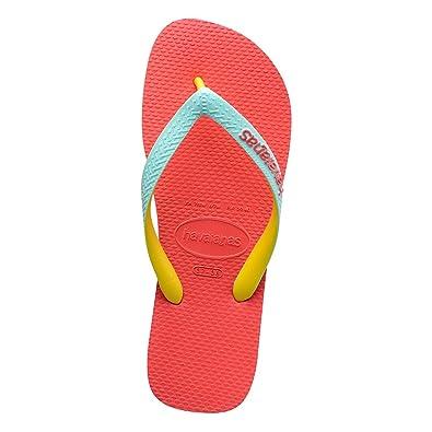 85ce5d4a1 Havaianas Unisex Adults  Top Mix Flip Flops  Amazon.co.uk  Shoes   Bags