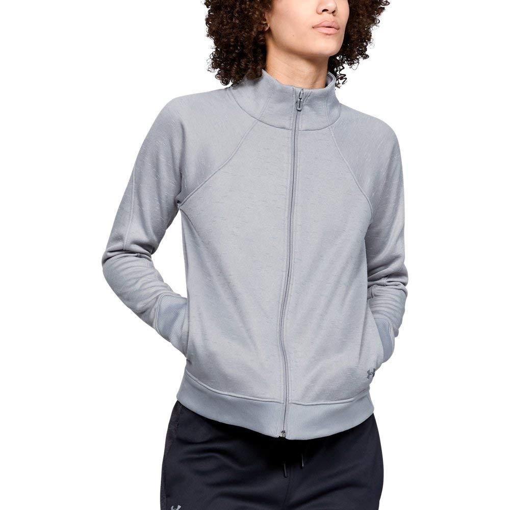 Under Armour Women's Synthetic Fleece Full Zip, Steel (035)/Tonal, X-Small
