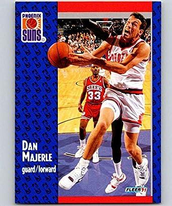 c375dbbaced5 Amazon.com  1991-92 Fleer  163 Dan Majerle Suns NBA Basketball ...