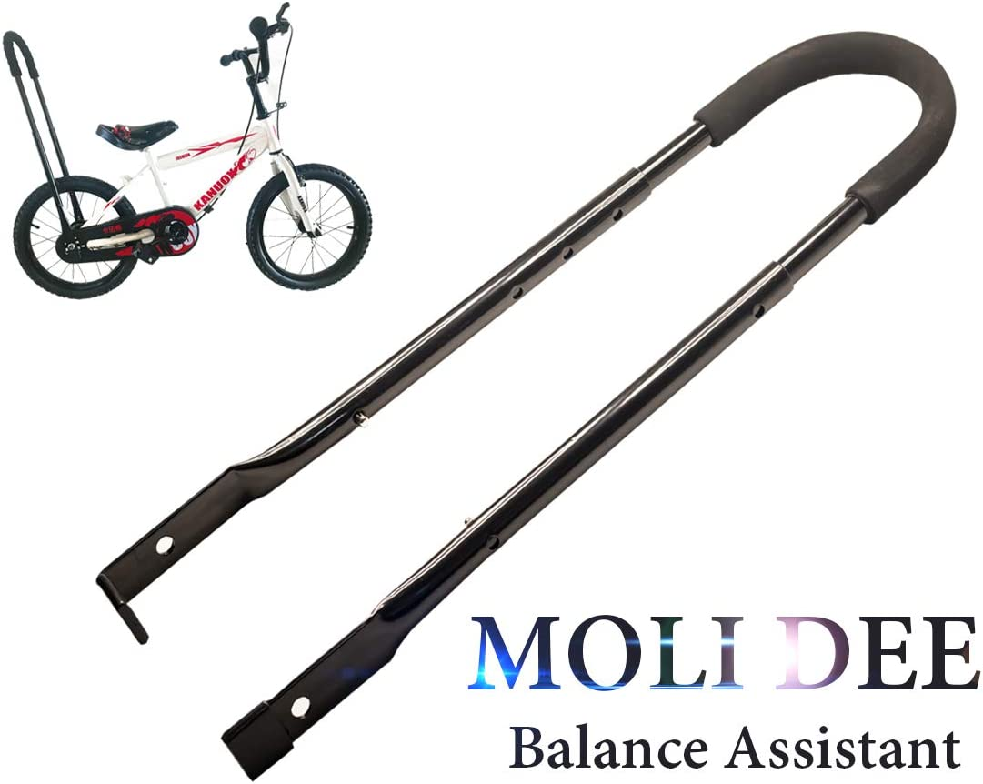 MOLI DEE Children Cycling Bike Safety Trainer Handle Balance Push Bar