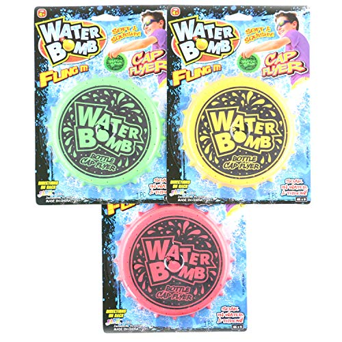 JA-RU Water Bomb Fling It Bottle Cap Flyer