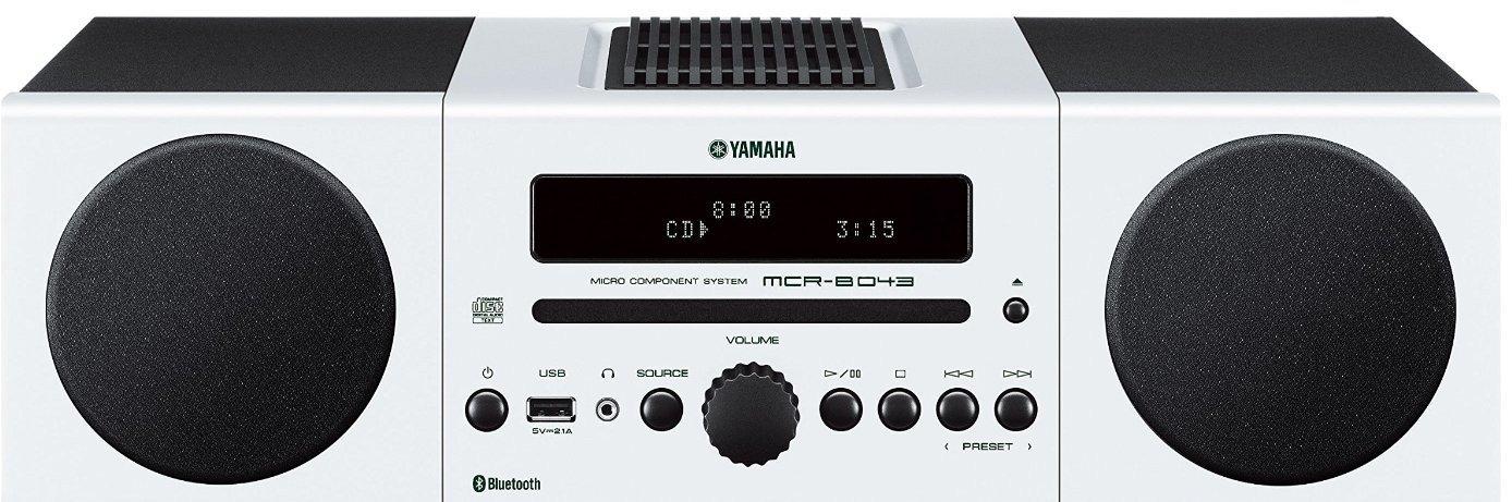 Yamaha MCR B Microcadena color blanco