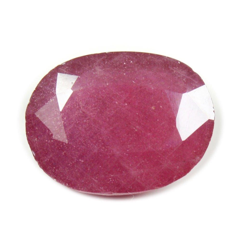 55Carat - Pierre précieuse non sertie - Véritable rubis naturel de 2, 5carats 5carats 55RYLG25