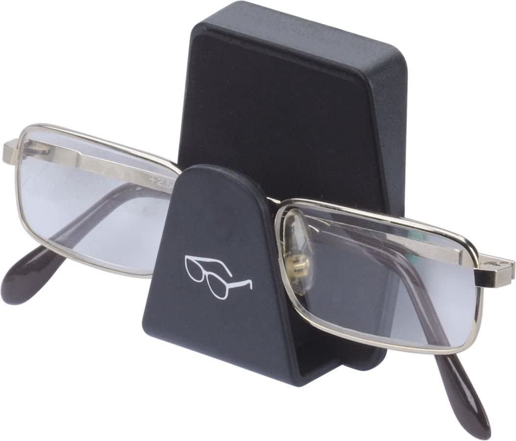 Brillenablage Trapez Black Für Auto Lkw Pkw Kfz Für Jedes Fahrzeug Und Jede Brille Sonnenbrille Mit Selbstklebende Befestigung Auto