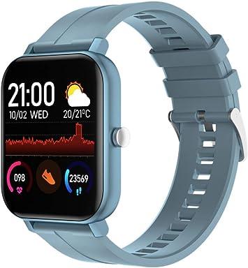 linyingdian Smartwatch, Reloj Inteligente Impermeable IP67 para Hombre Mujer niños, Pulsera de Actividad Inteligente con Monitor de Sueño Contador de ...