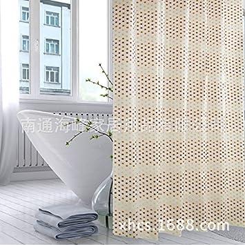 Peva Duschvorhang Schimmelbestandiges Badezimmer Gardinen Badezimmer