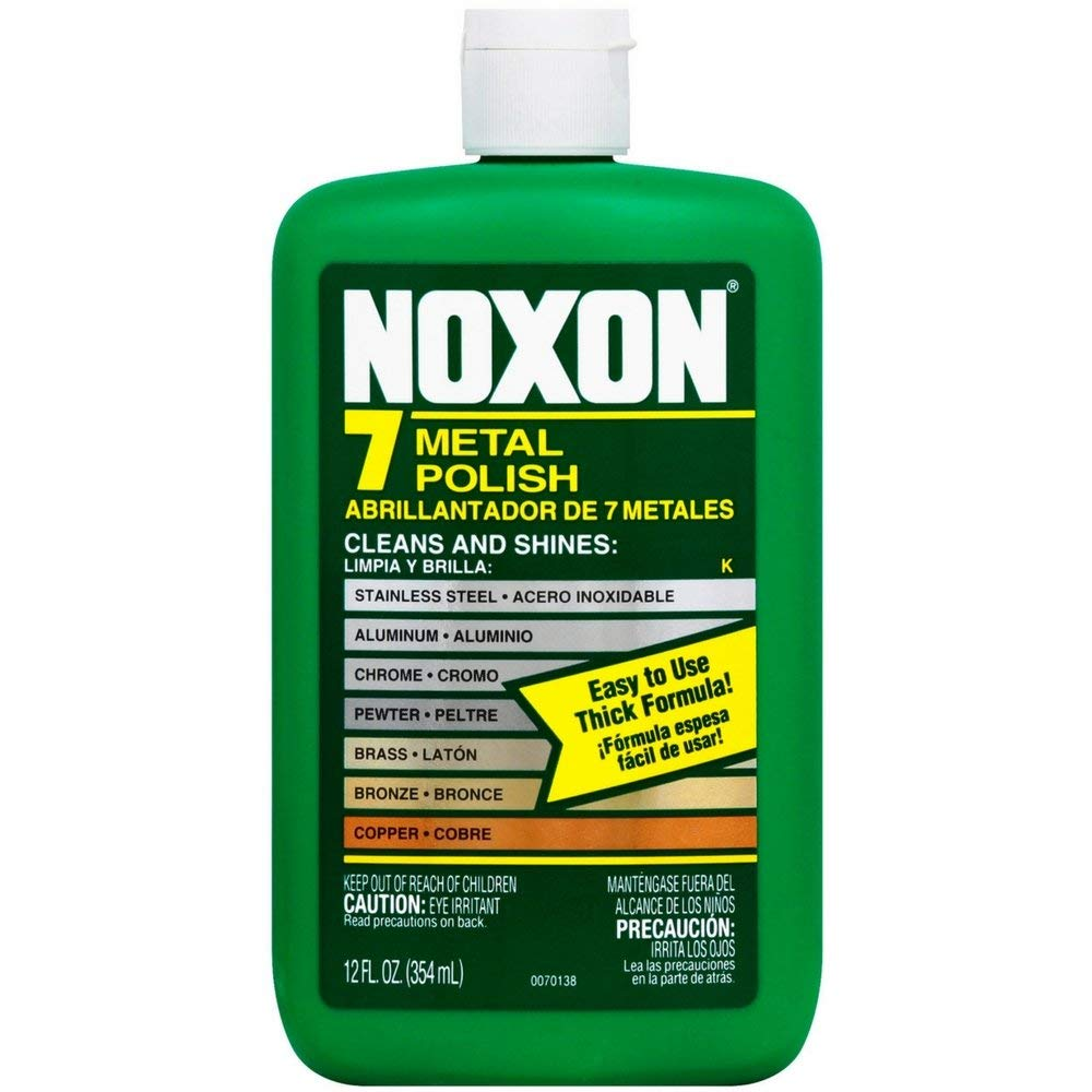 Noxon Multi-Purpose Metal Polish, 12 oz (Pack of 9)
