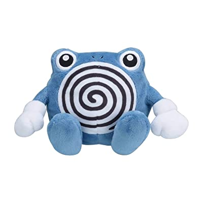 Pokémon Plush Sitting Cuties Poliwhirl: Toys & Games