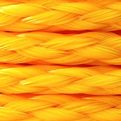 The 644741TV Yellow 3//8x400 YEL Braid Rope MIBRO Group