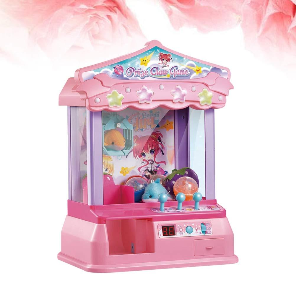 Amazon.com: Kid Doll Claw Máquina de peluquería de juguete ...