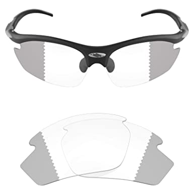 95a1b0b912 Mryok UV400 Replacement Lenses for Rudy Project Rydon - Eclipse Grey  Photochromic