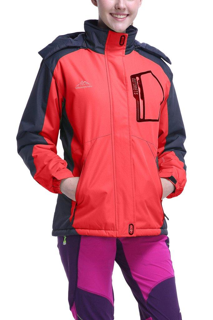 HengJia Women's Snow Jacket weatherproof Sports Jackets with Fleece Lining HengJia Trading Co. Ltd