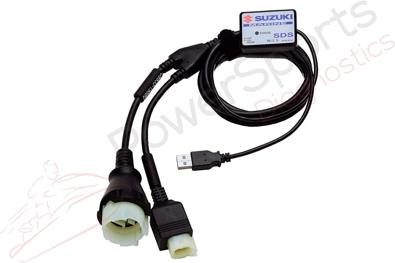 SUZUKI Diagnostic CABLE KIT FOR DF140  Free Shipping