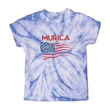 b2b7c194ca5 Amazon.com: Cute Rascals America Murica American Flag Crewneck Boys-Girls  Cotton T-Shirt: Clothing