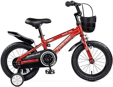 K-G Bicicleta Infantil Niños Bicicleta Doble Freno De Rueda De La ...