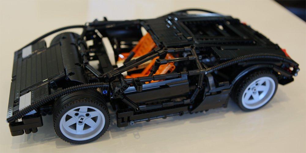 Galleon Lego Custom Technic Lamborghini Countach Lp400 Super Car
