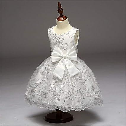 Girl Dress Ruffles Fancy Satin Flower Girl Dress A Line Ruffle