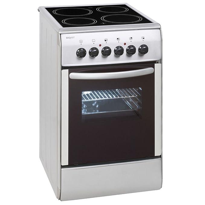 Eléctrico Stand Cocina vitrocerámica 46 litros horno ...