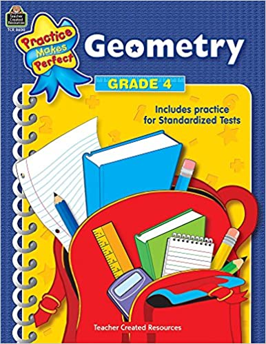 Amazon.com: Geometry, Grade 4 (Practice Makes Perfect Series ...