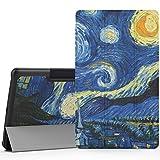 "MoKo LG G Pad F 8.0 / G Pad II 8.0 Case, Ultra Slim Lightweight Smart-shell Stand Cover [Fit 4G LTE AT&T Model V495 / T-Mobile V496 / US Cellular UK495] & [G Pad 2 8.0 V498] 8"" Tablet, Starry Night"