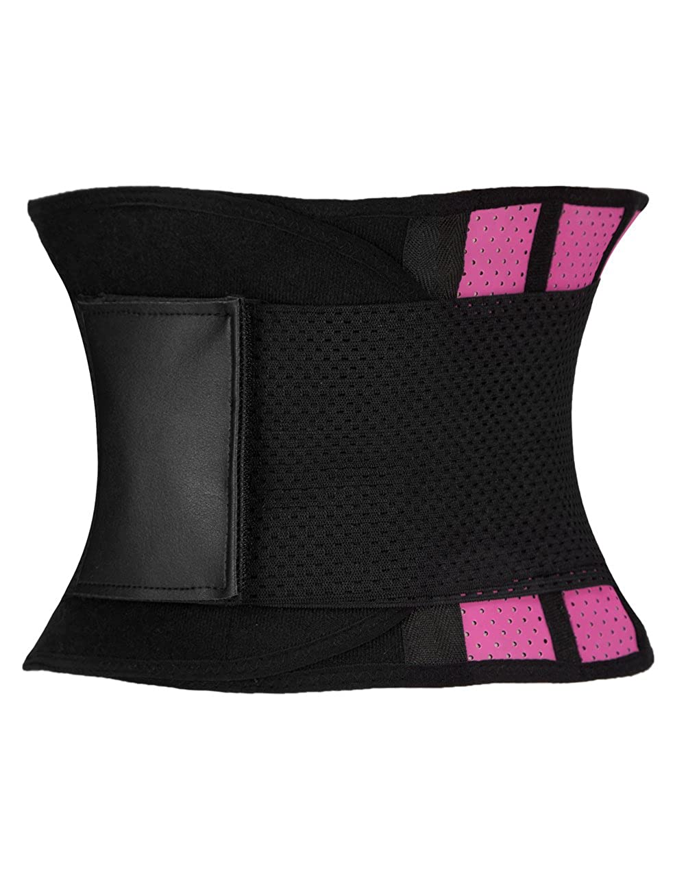 HEYME Waist Trainer Sweat Belt Belly Fat Burner with Breathable Hole for Summer and Workouts Abdominal Slimming Belt for Waist Training Velcro Adjustable Plus Size 3XL
