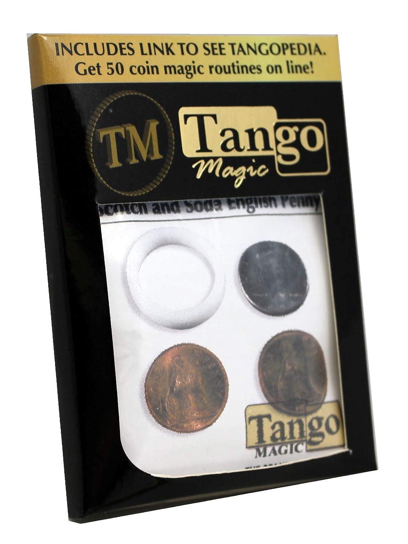 特価 Scotch Scotch Trick And Soda English Penny Trick by Tango Tango Magic B002MA3ZIK, マルミヤワールド:88be522f --- leadjob.us