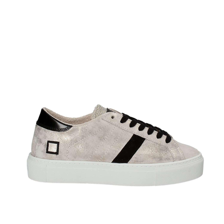 D.a.t.e. Beige VERTIGO-39I Niedrige Sneakers Damen Beige D.a.t.e. b31add