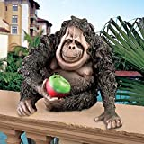 Design Toscano Oswald the Baby Orangutan Statue For Sale