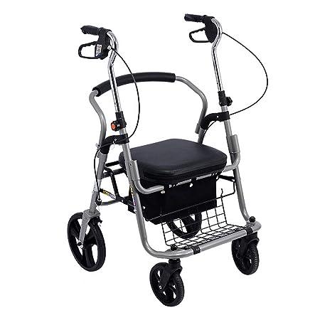 Andadores Caminador de Aluminio Plegable con cojinete de ...