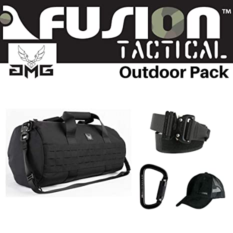 59211fbf7e52 Amazon.com : AMG & Fusion Outdoor Pack Black, Great Carry-On Flight ...