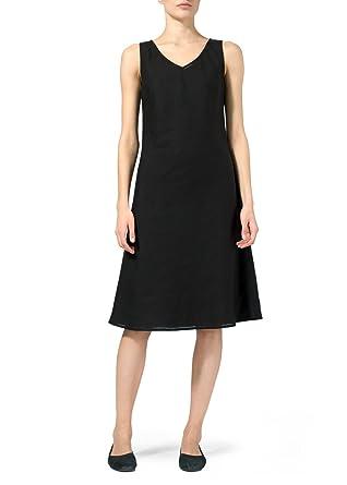 c12ec6203b8 Vivid Linen Bias Cut Sleeveless Short Dress at Amazon Women s ...