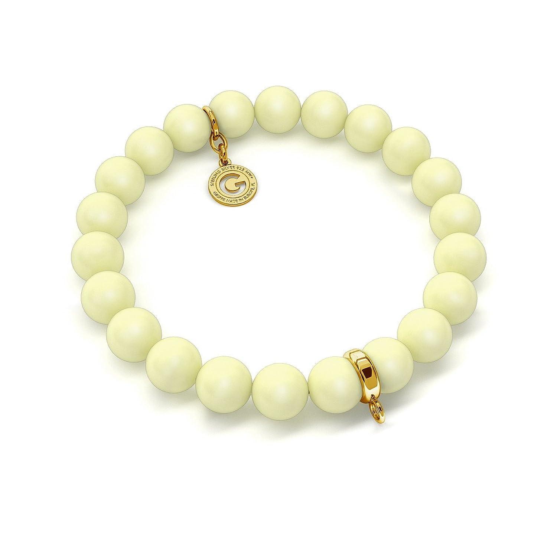 c467bfed559a Chic GIORRE ¤ Nuevo Pulsera ElÁstica De Perlas (swarovski Pearl) Sobre 1  Charm ¤